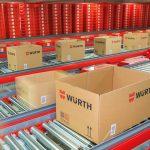 Würth 集团设在库泽骚的最先进、性能最高的配送中心每天处理大约 60,000 个订单项。